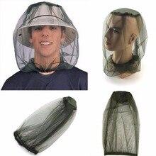 LumiParty легкая дышащая противомоскитная маска шляпа москитная сетка защита для лица для Поход Кемпинг Рыбалка Пешие прогулки