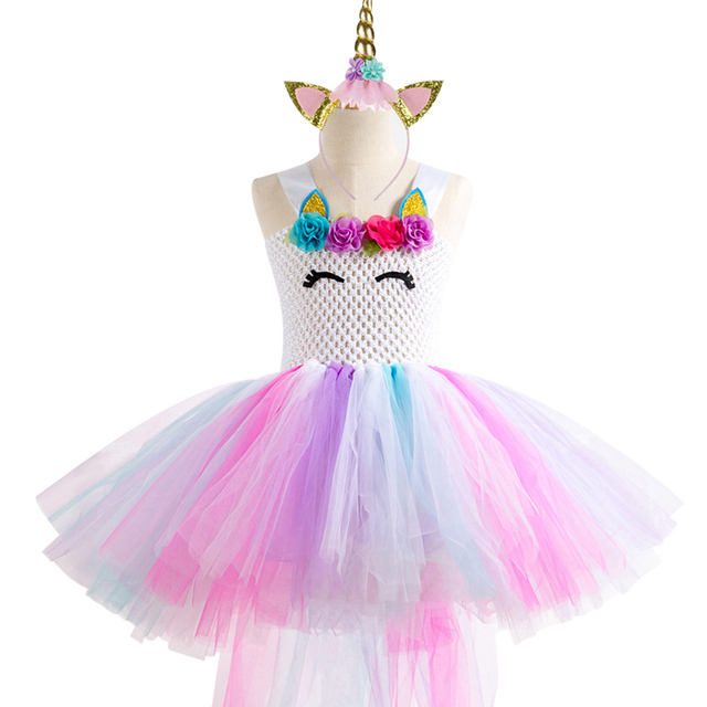 Unicorn Party Girls Dress
