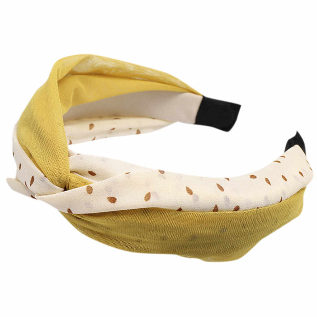 Новое поступление повязки для женщин пластик Бутик Сладкий Ткань лентой оберточная бумага для головы женские аксессуары для волос резинки для волос 51 *