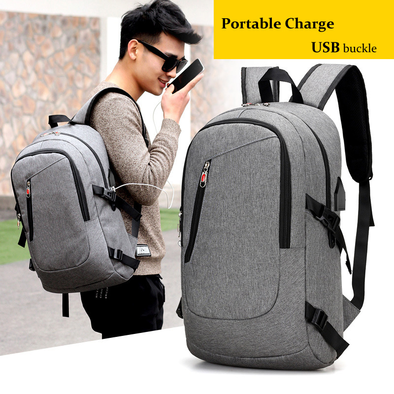 New Laptop Backpack Male USB Shoulder Bag 15-17inches Business Backpack Men Mochila Travel Backpacks School Bags For Teenagers girsl kid backpack ladies boy shoulder school student bag teenagers fashion shoulder travel college rucksack mochila escolar new