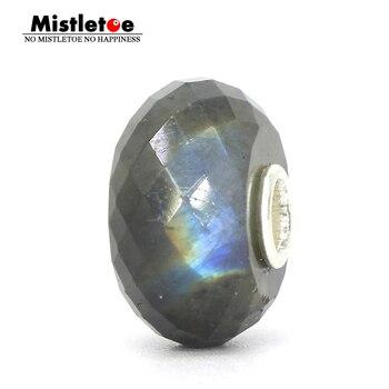 415b82daf612 AAA grado genuino azul Arco Iris labradorita piedra preciosa cuentas de  piedra Natural de grano para hacer joyería de 15 pulgadas ¡!