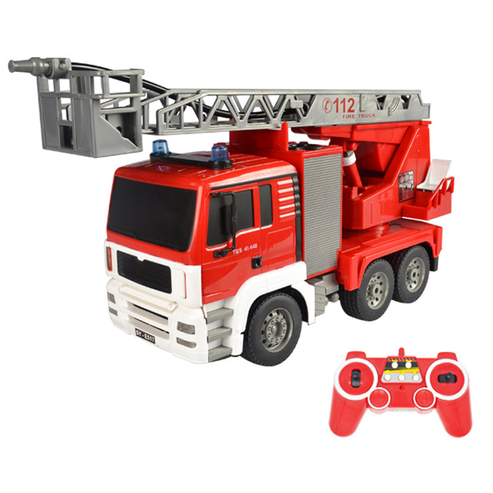 1/20 RC Car Water Spray Truck Remote Control Fireman Fire Truck Boy Kids Toy Gift1/20 RC Car Water Spray Truck Remote Control Fireman Fire Truck Boy Kids Toy Gift