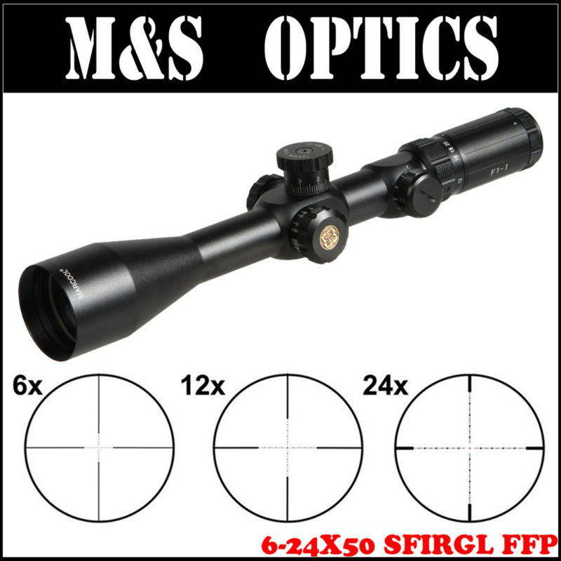 MARCOOL Optical Sight EVV 6-24X50 SFIRGL FFP First Focal Plane Hunting Tactical Rilfescopes Waterproof Scope For pneumatic rifle marcool 4 16x44 side focus front focal plane optical sights rifle scope hunting riflescopes for tactical gun scopes for adults