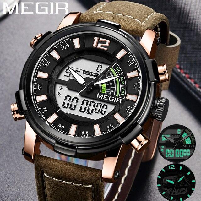 b4c8425058a0 Aliexpress.com  Comprar Reloj MEGIR de los hombres