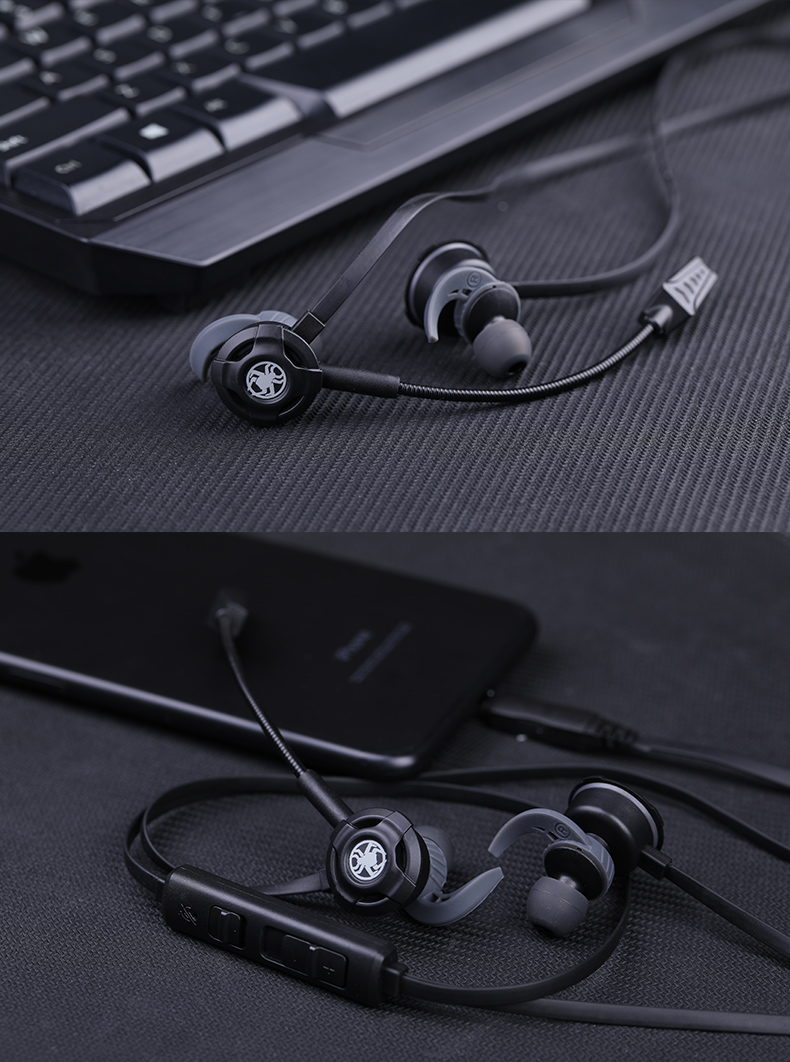 PLEXTONE G30 Gaming Headset For Gamer With Dual Microphone In-ear Earbuds Bass Wired Earphone For iPhone Samsung Phone Computer (3)