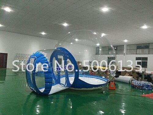 Чистый надувной пузырь палатка с туннелем для продажи китайский производитель, надувные палатки для торговых шоу, надувной сад палатка - Цвет: 1