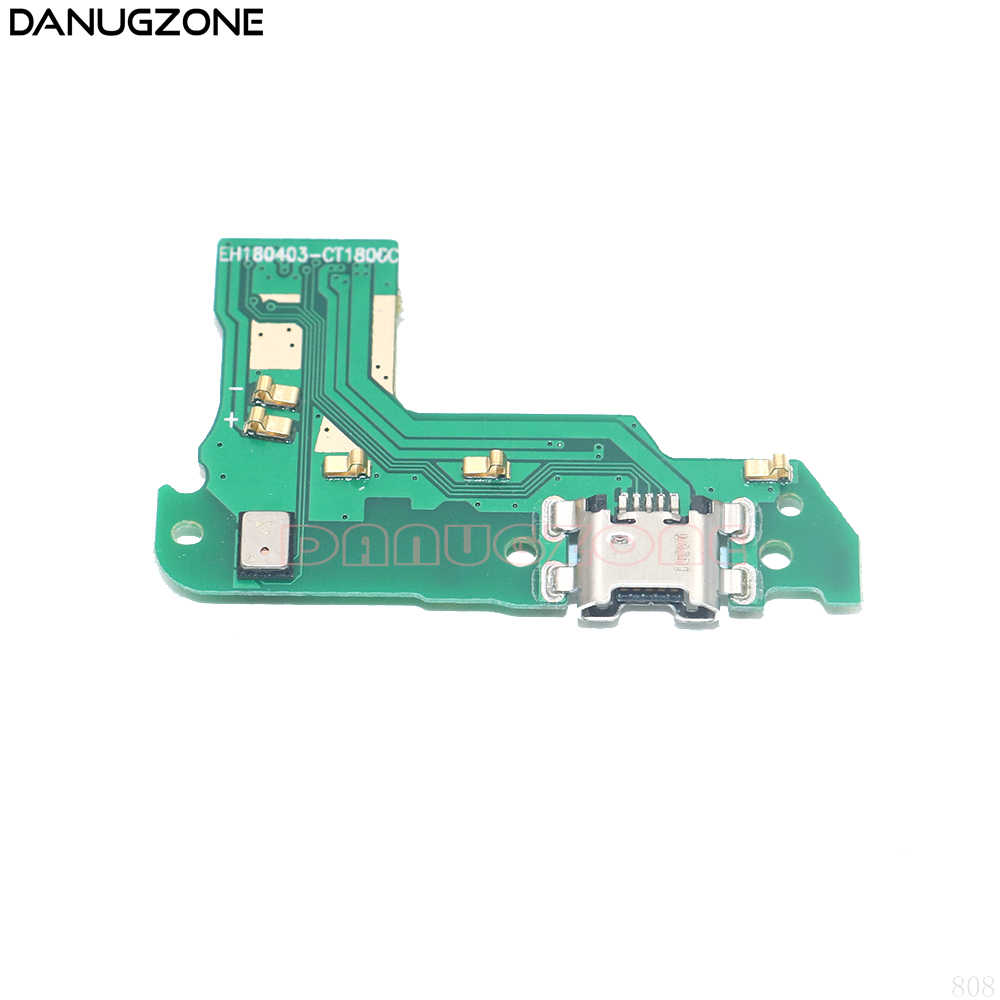 USB Charging Dock Port Socket Jack Connector Charge Board Flex Kabel Voor Huawei Y6 2018/Voor Y6 Prime 2018