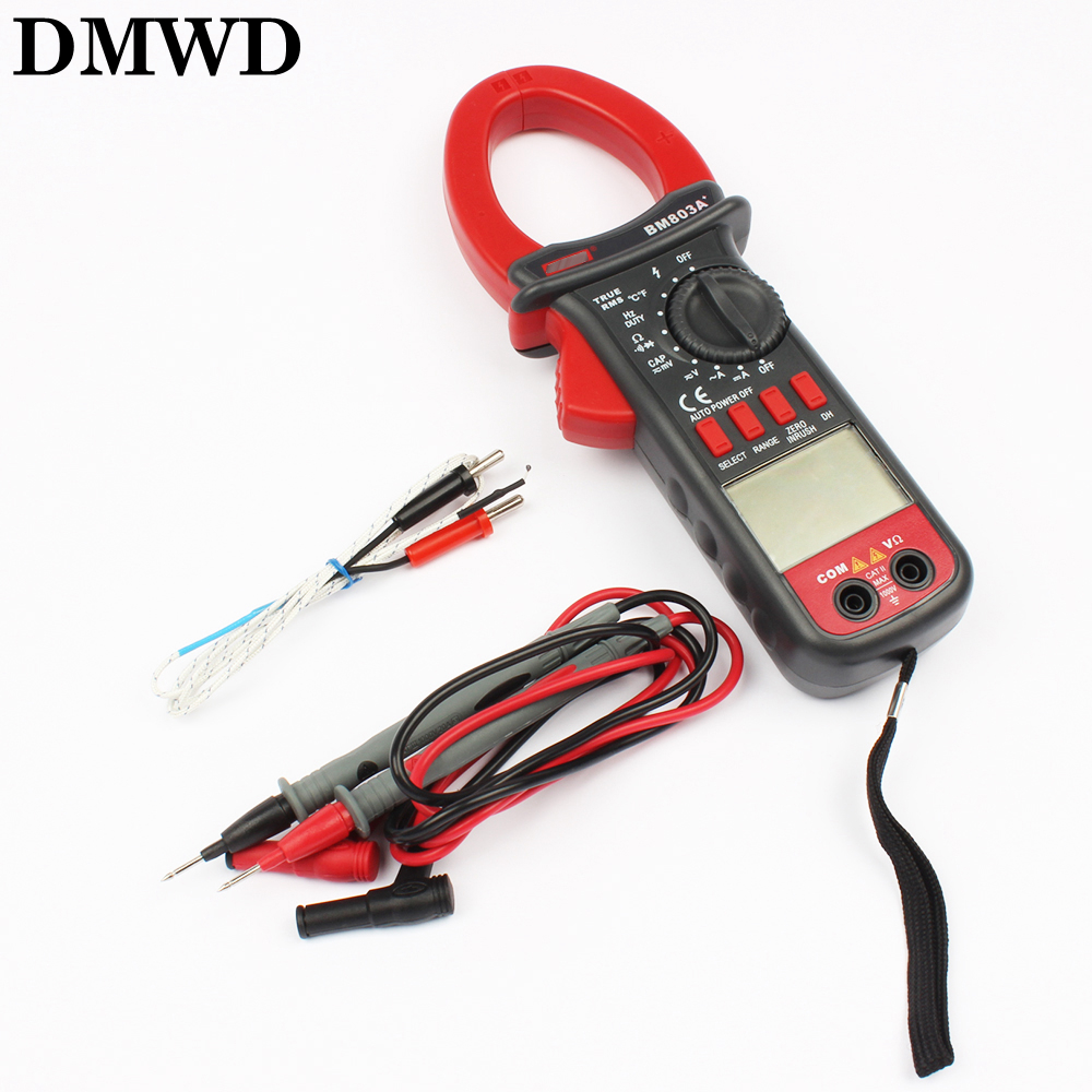 Фотография BM803A BM803 Digital AC-DC 1000A Clamp Meter digital multimeter  1000V  Temperature 1000