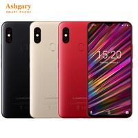 UMIDIGI F1 4G Smartphone 6.3'' Android 9.0 Helio P60 Octa Core 2.0GHz 4GB RAM 128GB ROM 16.0MP Fingerprint 5150mAh Mobile Phones