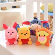 2019 Disney Plush Toy Winnie the Pooh Mickey Mouse Minnie Cute Plush Toy Plush Doll Toy Lilo and Stitch Pig Toys for Children disney plush toys cowbo mickey mouse minnie plush toys doll boys girls stuffed doll birthday gifts toys for children baby