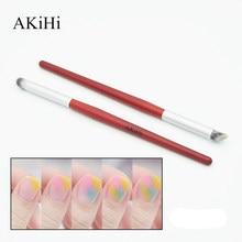Akihi caneta para pintura de unhas, desenho artístico, degradê, tonalizante