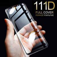 111D plein verre trempé incurvé pour Samsung Galaxy S9 S8 Plus Note 9 8 protecteur d'écran sur Samsung S7 S6 Edge S9 Film de protection