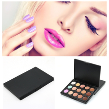 15 Colors  Concealer Contour Palette + Multi-Function Face face powder blusher Tools