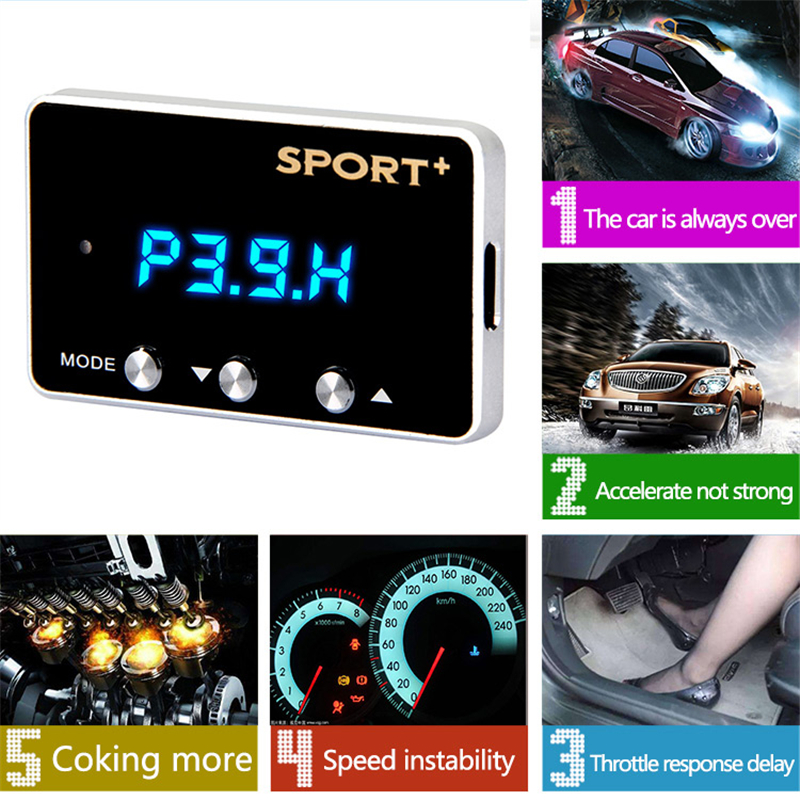 Best seller 7 Driver Auto Gas Pedal Booster Car Electronic Throttle Controller for Modify Tune Grooming Maintain Refit