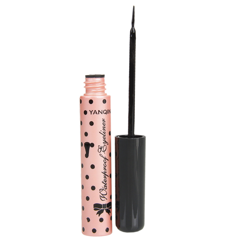liquid eyeliner brush. fashion women 8617 pink collection liquid eyeliner hair brush long-lasting black color high quality