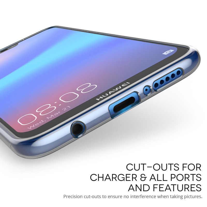 Huawei 社メイト 20 プロ P30 P20 プロ Lite のケース超薄型ソフトのための透明 TPU シリコーンフルカバー 8 8X 最大 10 Lite 9