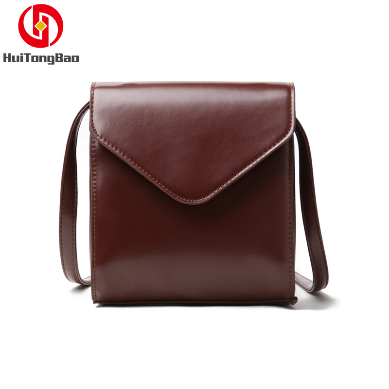 Women Fashion Mini Flap Bag Simple Single Shoulder Crossbody Leather Messenger Party Luxury Woman Designer Ladies Purses Bags in Shoulder Bags from Luggage Bags