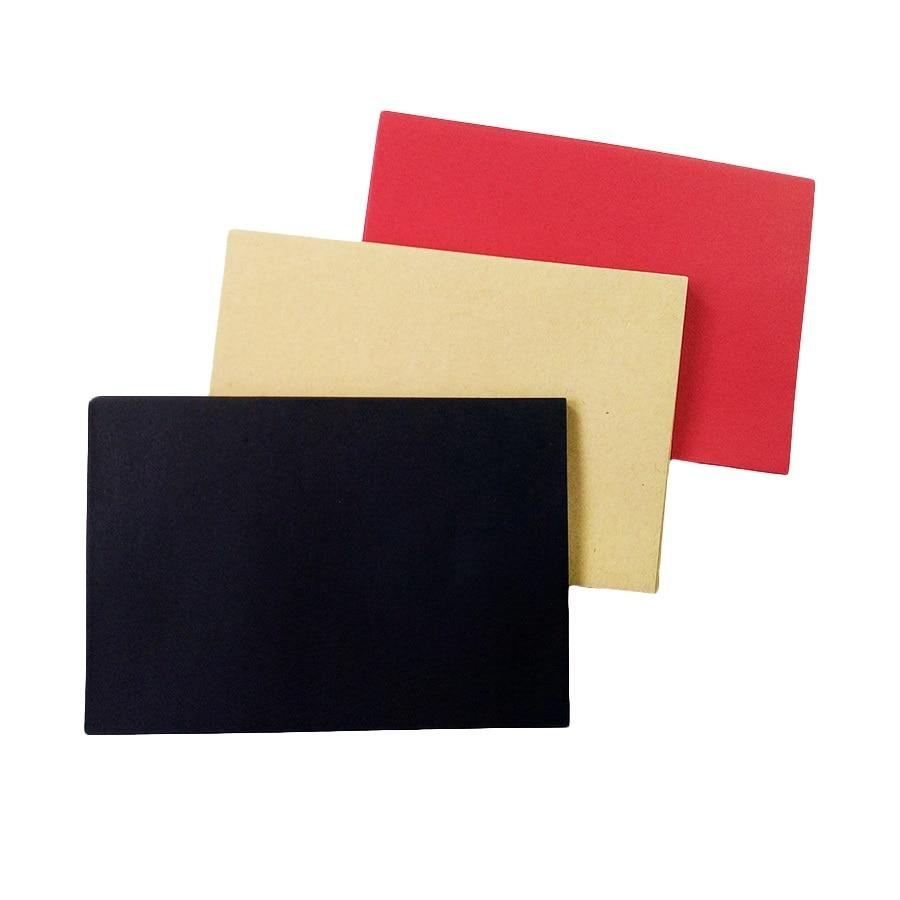 10pcs/Lot Black Red Kraft Paper Envelopes DIY Multifunction School And Office Supplier Stationery