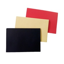 5pcs/Lot Black Red Kraft Paper Envelopes DIY Multifunction School And Office Supplier Stationery