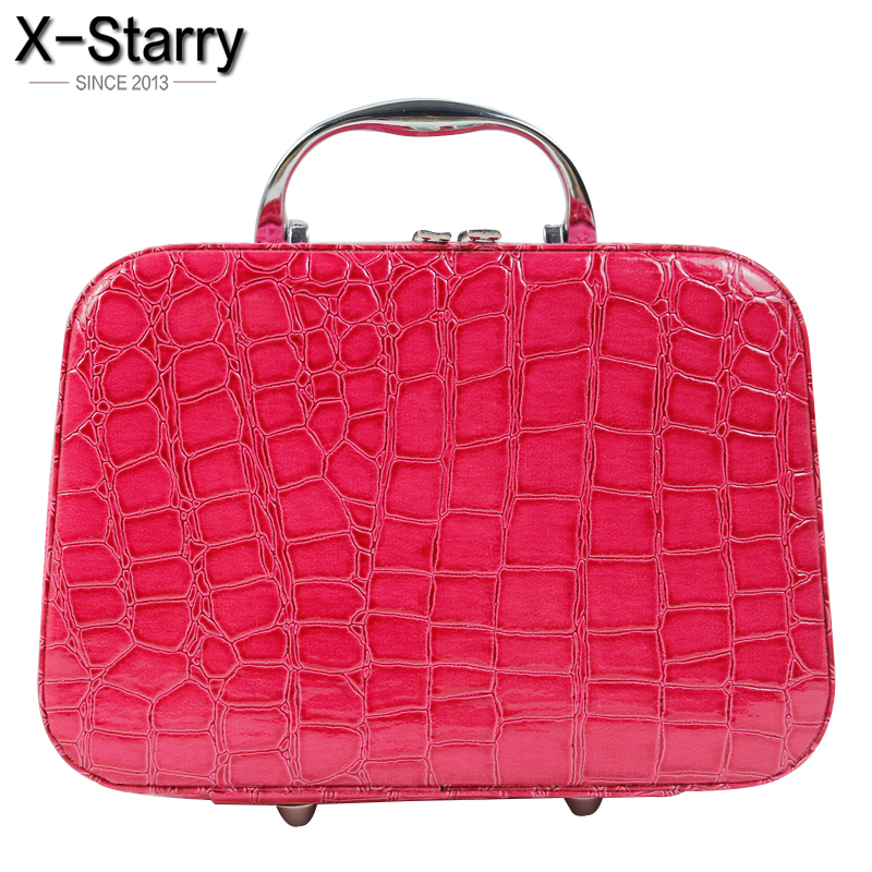 X-Starry 2017 Fashion Women Beauty Makeup Storage Bags Ladies Pouch Cosmetic Bag Women Wash Bags Ladies Travel Bag hl8457/h