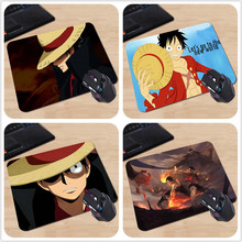 Make Your Own Amazing Mouse Pad Adventure Comics One Piece Monkey Luffy Customized Computer Notebook Beautiful Anime Mouse Mat