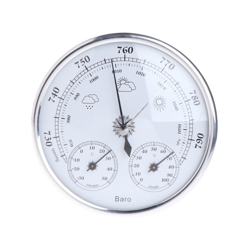 NEUE Haushalts Wetterstation Barometer Thermometer Hygrometer Wandbehang H15