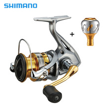 cdfcf500c62 Shimano SEDONA FI Spinning Reel with Extra Power Handle Knob AR-C Spool 3+
