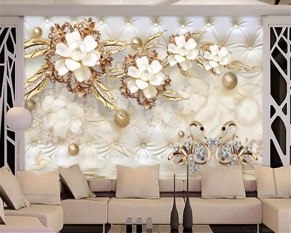 Beibehang Custom Classic Super Silky 3d Wallpaper Modern