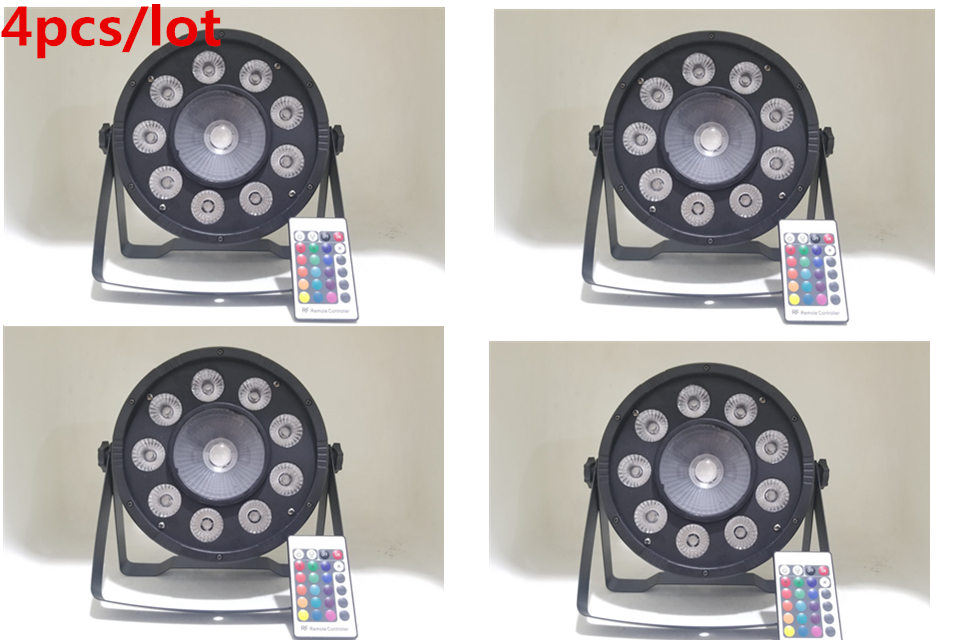 Wireless Remote Control led par ligh 9x10 W+30W RGB 3in1 LED Par Light Wash Step Uplighting Remote Control 4pcs/lot ...