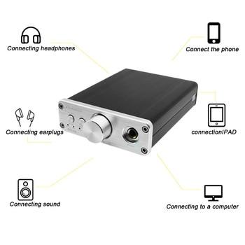 портативный усилитель для наушников   Профессиональный усилитель для наушников Портативный Настольный HiFi DAC аудио 3,5 мм усилитель для наушников RCA вход, DAC PH-A2 усилитель