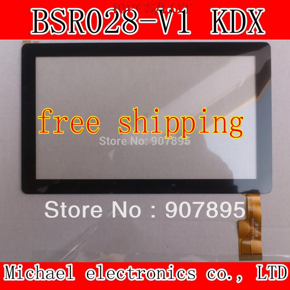 10PCS free shipping 7 Capacitive Touch screen digitizer panel for All winner A13 Q88 Tablet PC 30pins on connector CZY6075E-FPC free shipping 10pcs e c7027 03 a touch
