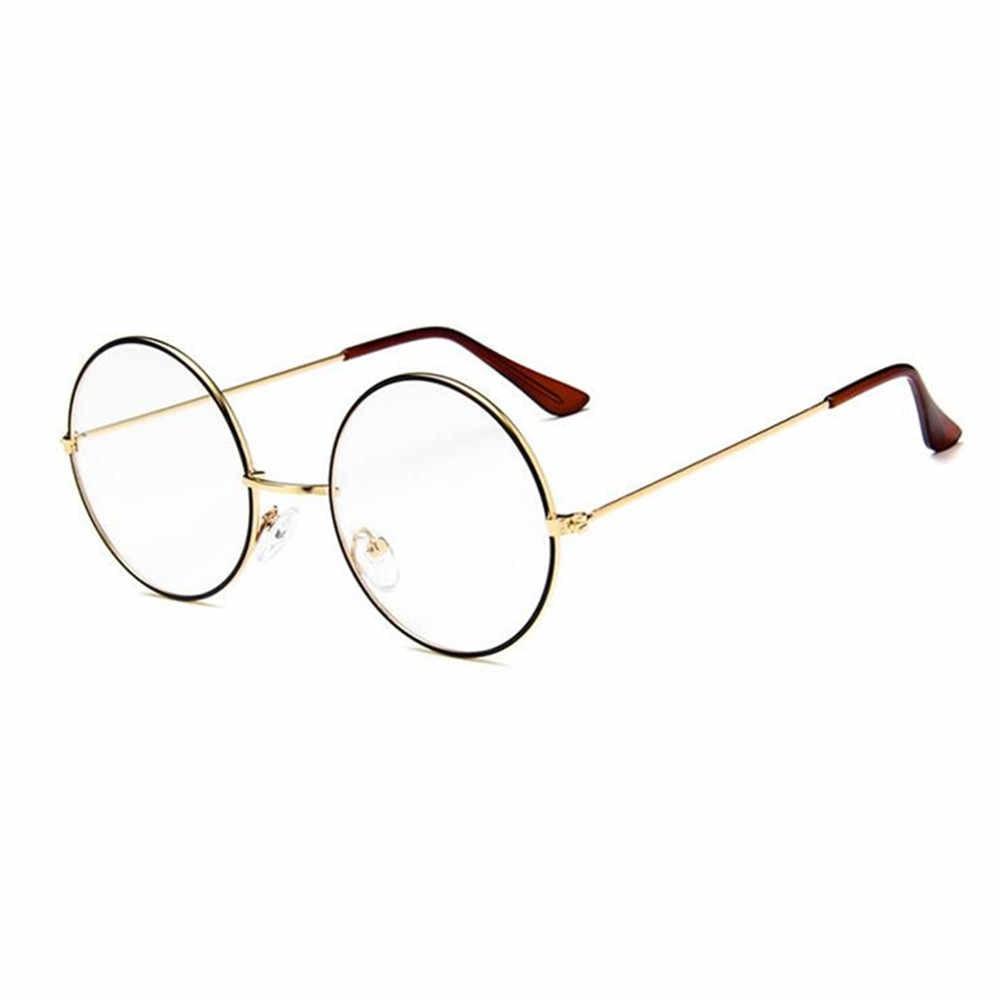 92ec59e3c7 Vintage Round Metal John Lennon Steve Jobs Harry Potter Eyeglass Frames  Glasses Retro Fashion Full Rim