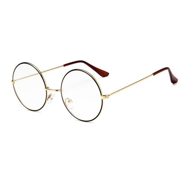 ea117d20e4709 Redonda de Metal do vintage John Lennon Steve Jobs Harry Potter Óculos  Retro Moda Óculos de
