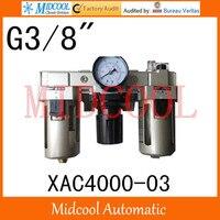 Hoge kwaliteit XAC4000-03 serie luchtfilter combinatie frl 4-poorts g3/8