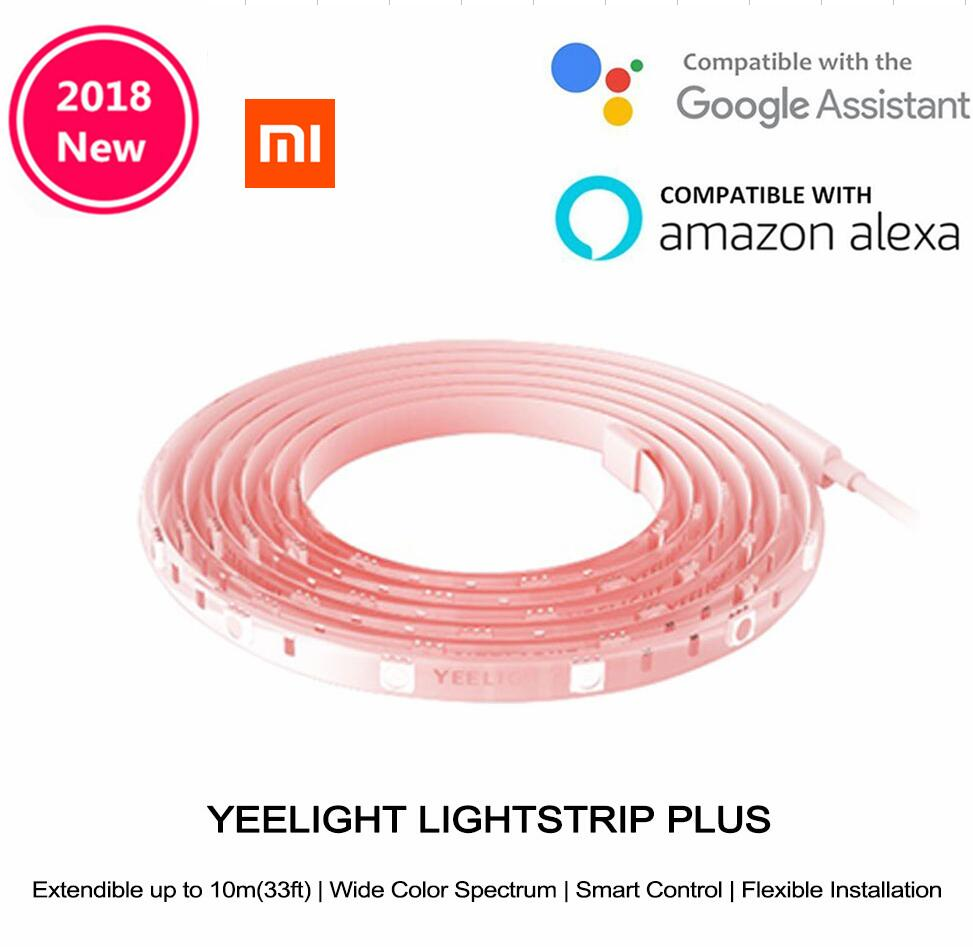 Promo Xiaomi Yeelight Rgb Intelligent Light Band Plus Extension Ama Zon Smart Phone App Wifi Strip Colorful Lamb