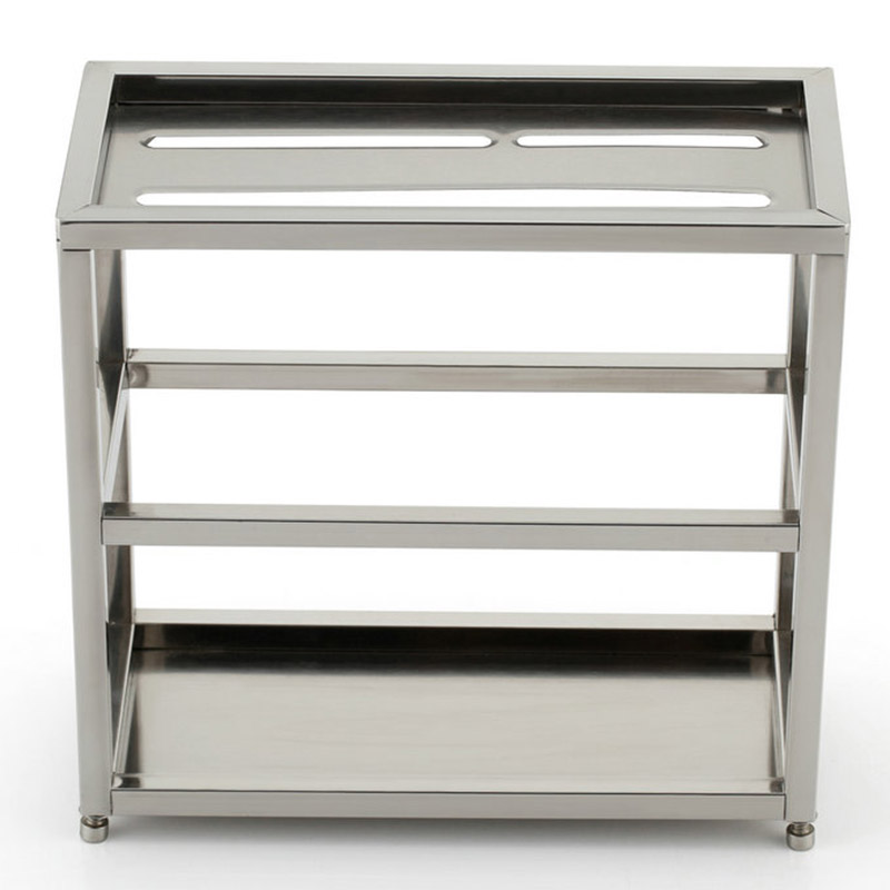 Hot Sale High Quality Stainless Steel Knife Storage Rack High Load-bearing Double Layer Knife Holder Free Shipping