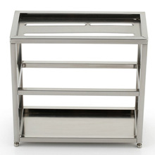 Hot Sale High Quality Stainless Steel Knife Storage Rack High Load-bearing Double Layer Knife Holder Free Shipping цена
