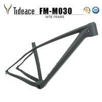 2019 cadre vtt chinois 29er 142mm/148mm boost à travers l'essieu VTT cadre 29 cadre de vélo carbone max 2.35 pneus pièces de vélo