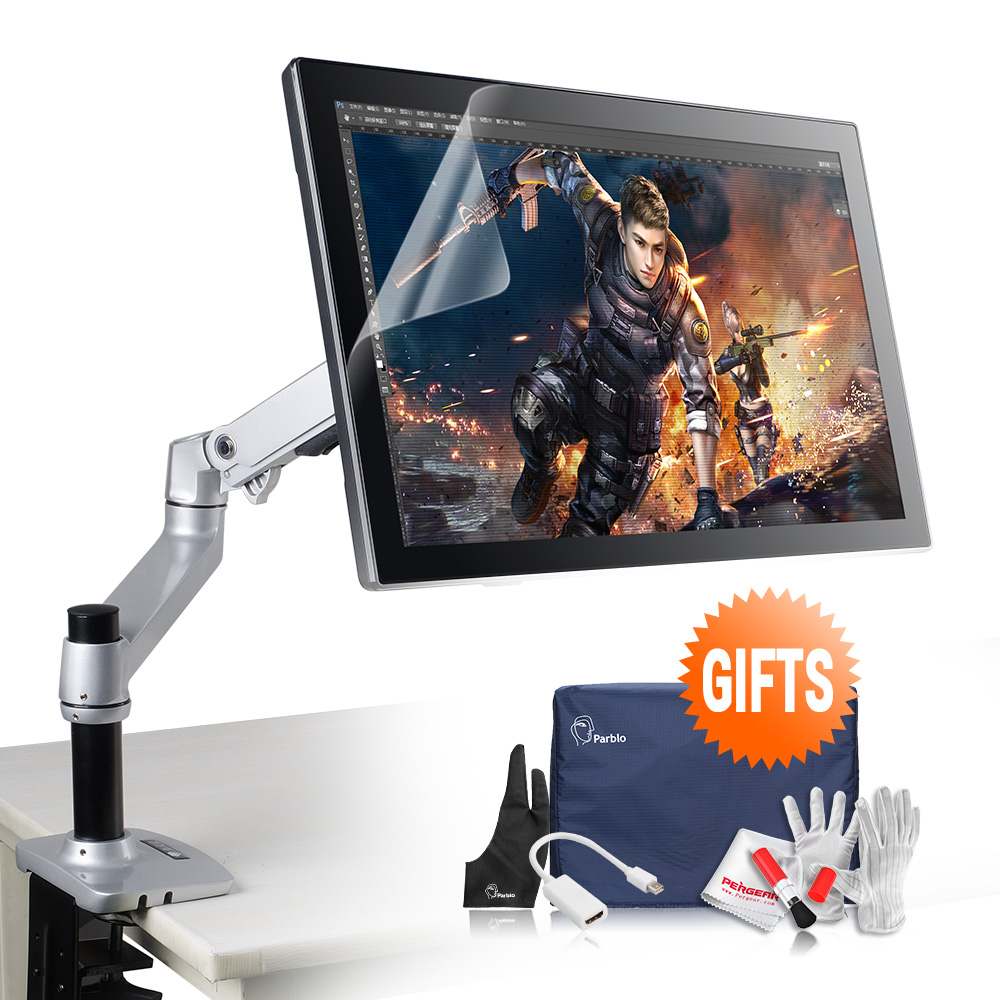 Parblo Coast22 21.5 IPS LED TFT Pro Art Drawing Graphics Tablet Monitor w/Cordless Battery-free Pen+ Foldable Desk Mount Stand glyn moody digital code of life how bioinformatics is revolutionizing science medicine and business