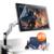 "Parblo Coast22 21.5 ""IPS TFT LED Pro Arte Tableta Gráfica Dibujo Monitor w/Inalámbrico sin Batería Pluma + plegable Desk Mount Soporte"