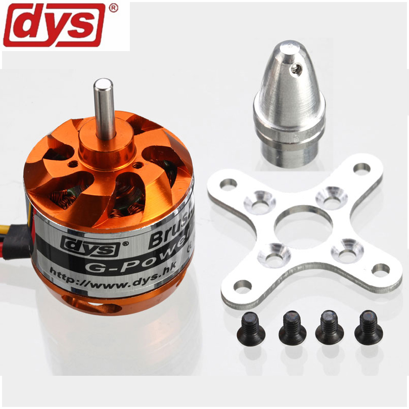 1pcs DYS D2826 Brushless Motor 930KV 1000KV 1400KV 2200KV For RC Aircraft Plane Multi-copter Brushless Outrunner Motor 4pcs 6215 170kv brushless outrunner motor with hv 80a esc 2055 propeller for rc aircraft plane multi copter