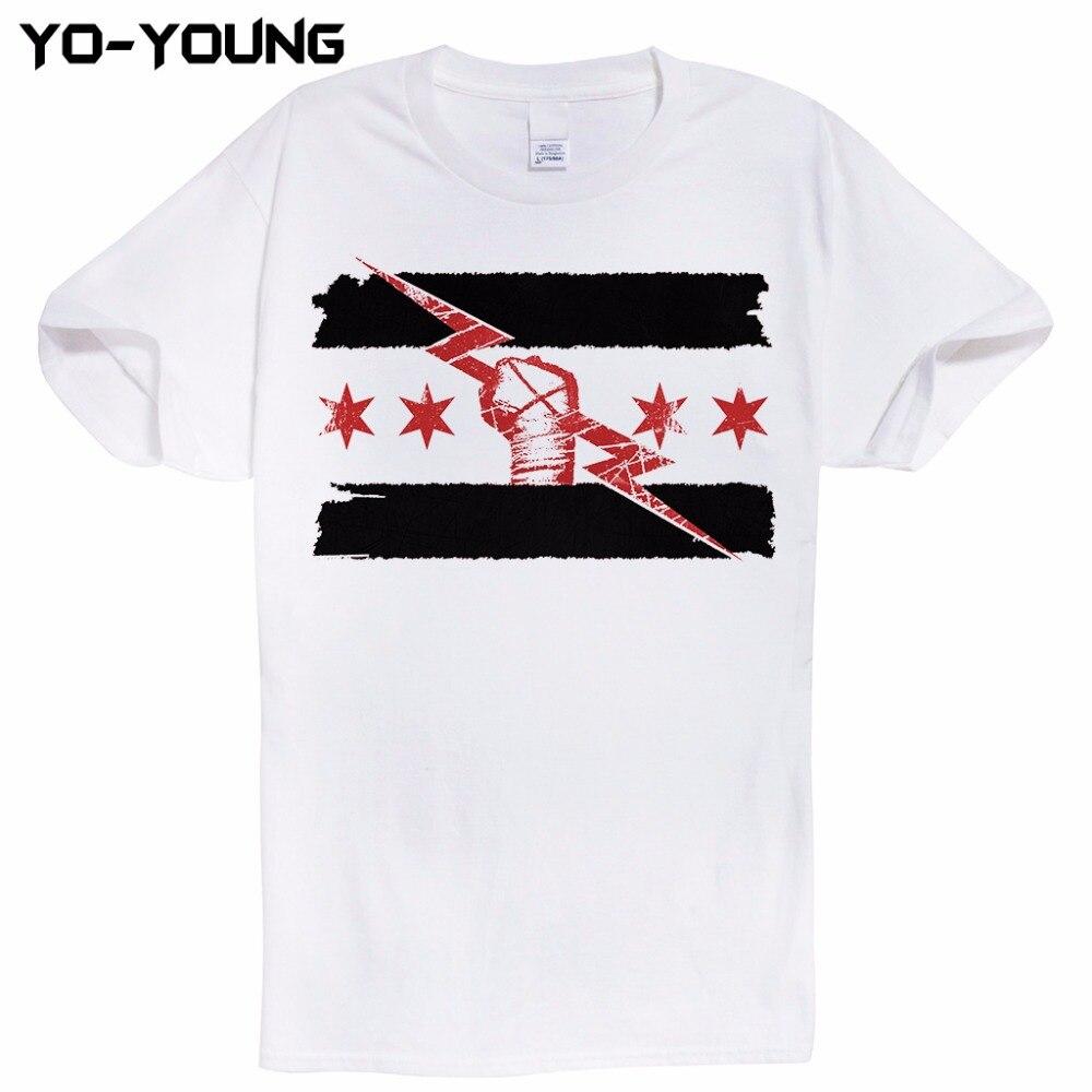 Cm Punk Best In The World Men Casual T Shirts Digital