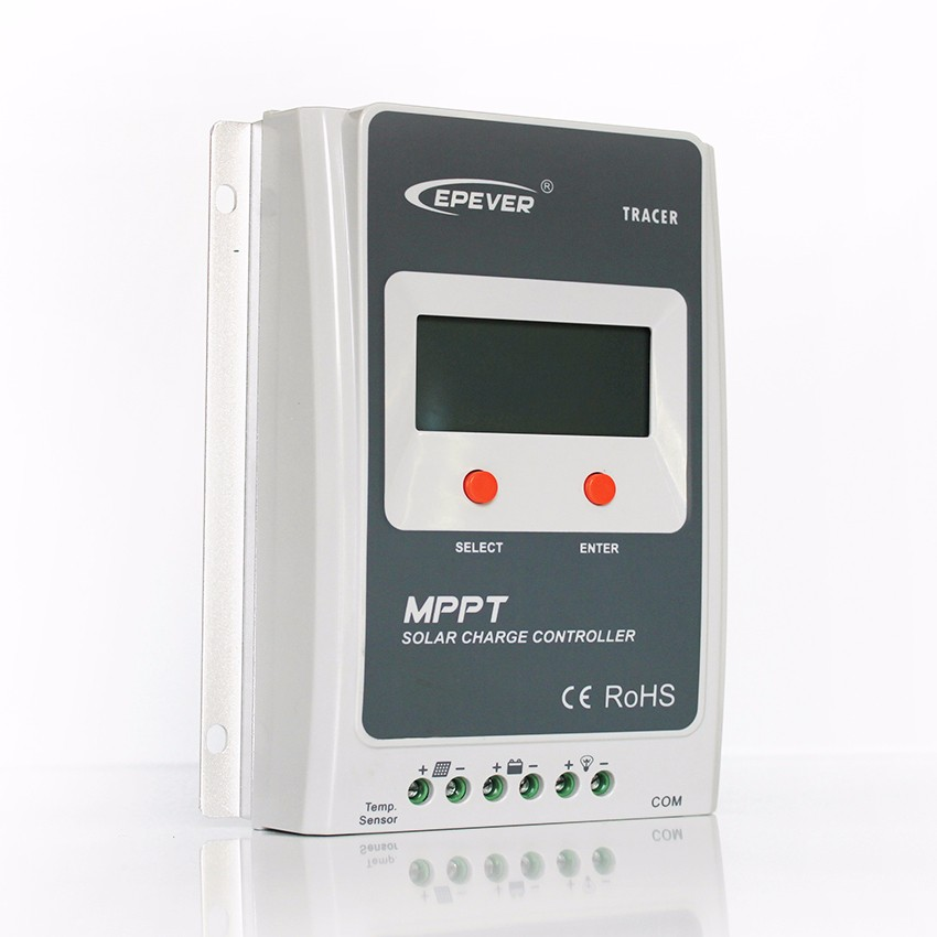 Free Shipping !! EPEVER 20A MPPT Solar Charge Controller 100V input Tracer A Series 2210A With LCD Display