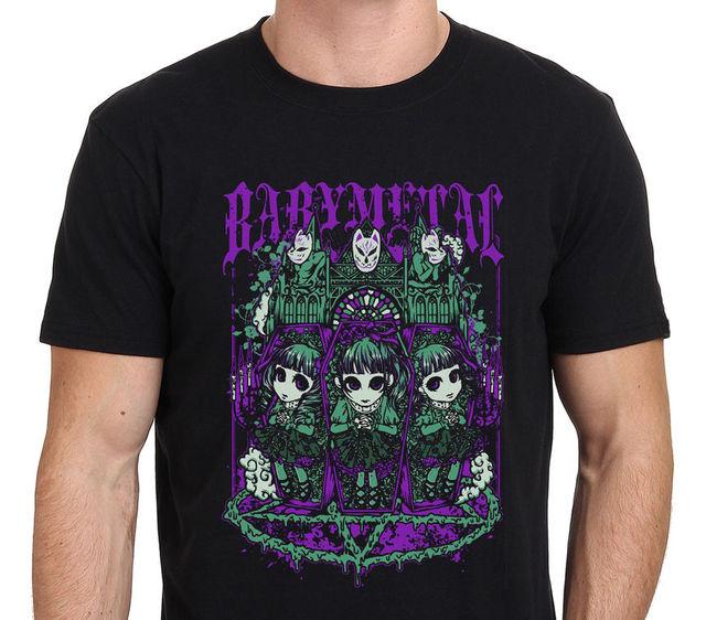 2018 Hot sale Fashion BABY METAL Band Art Men's T-Shirt Size: S-M-L-XL-XXL Tee shirt