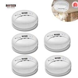 DAYTECH датчик дыма пожарный детектор Сигнализация домашняя охранная сигнализация детектор дыма 85 дБ для кухни/отеля/ресторана