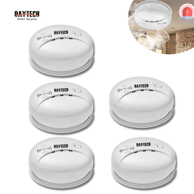 Kitchen Smoke Detector Aid Oven Daytech Sensor Fire Alarm Home Security 85db For Hotel Restaurant
