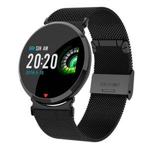 2019 mężczyźni inteligentny zegarek do monitorowania tętna kalorii krokomierz Sport bransoletka wodoodporny zegarek męski kobiety inteligentny Smartwatch