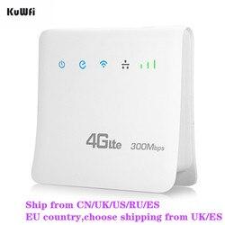 Разблокирована 300 Мбит/с Wi Fi маршрутизаторы 4 г LTE CPE Мобильный маршрутизатор с LAN порты и разъёмы поддержка SIM карты Европа/Азия/Ближний Восто...