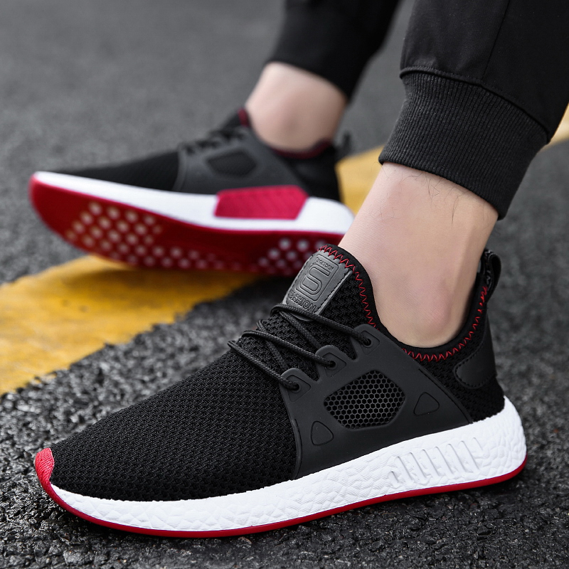 Brand Men Sneakers Sping Summer Outdoor soles jogging sport shoes Breathable Comfortable Walking Running Shoes For Male