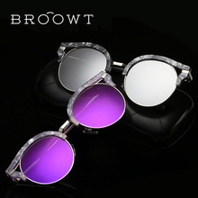 BROOWT Brand Polaroid Sunglasses Women's UV400 Protection Polarized Driving Alloy Sun Glasses For Women BR325